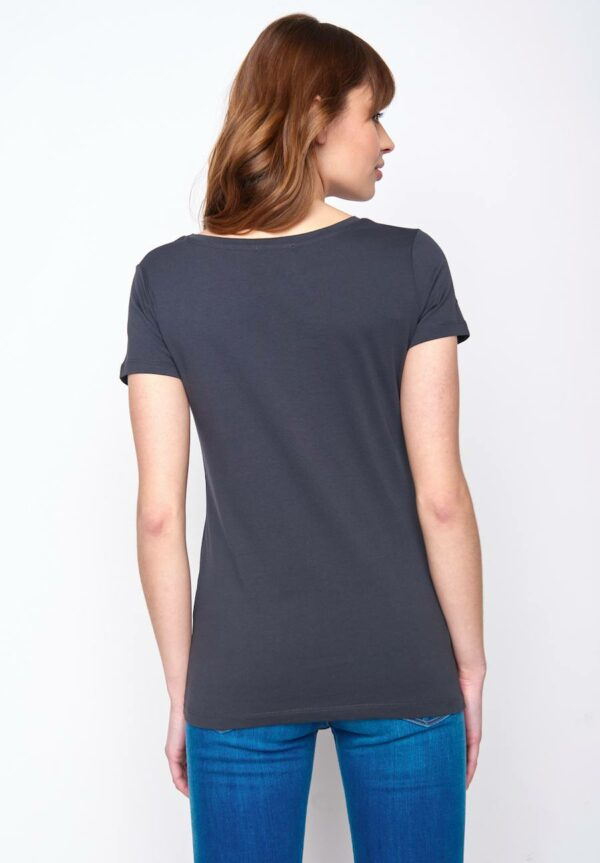 Greenbomb dámske tričko birds line šedé