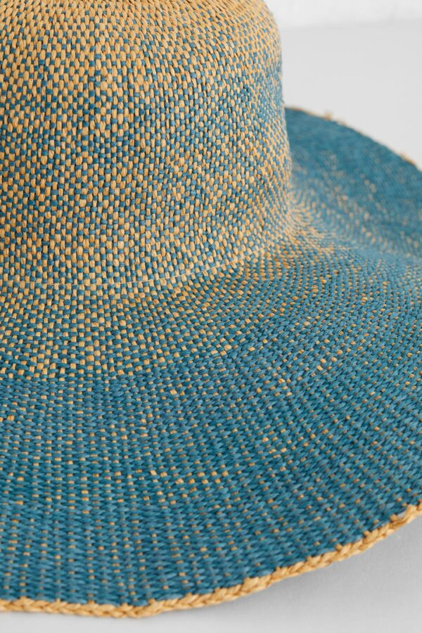 Seasalt Cornwall dámský klobouk light and shade modrý