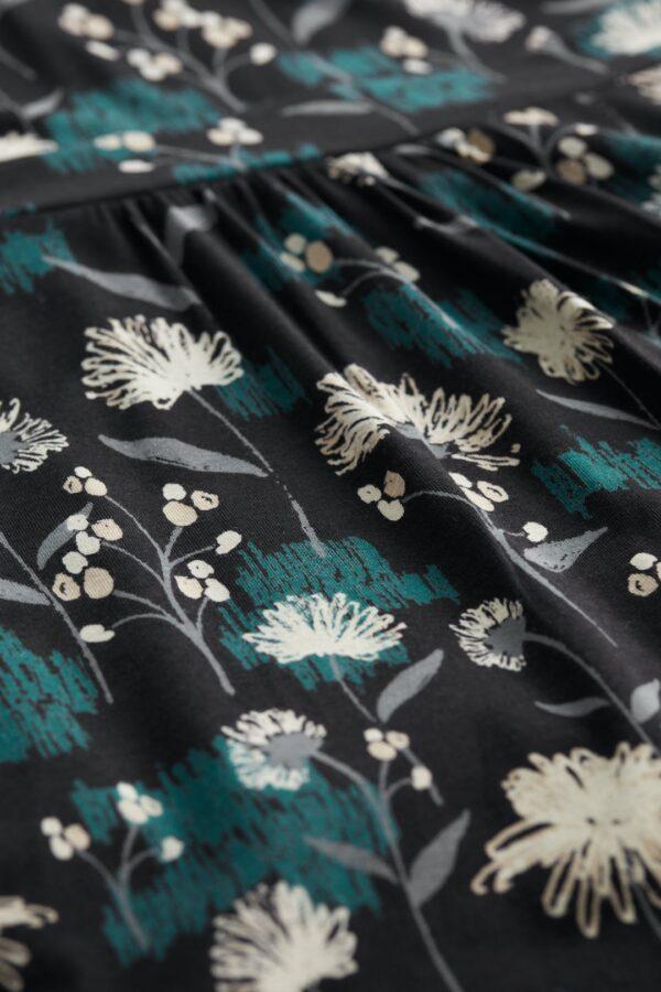 Seasalt Cornwall bmbusové šaty sandhills sketch black