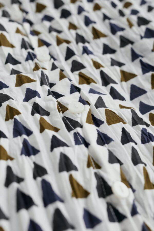 Seasalt Cornwall košile larissa triangles ecru z bio bavlny