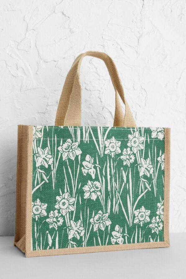 Seasalt Cornwall jutová taška daffodils – malá