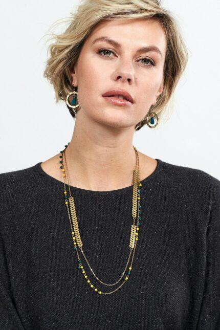 Nomads náhrdelník herringbone