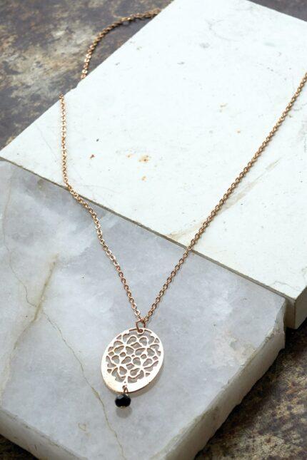 Nomads náhrdelník etched rose