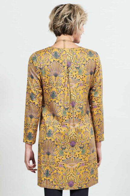 Nomads tunikové šaty jaiselmer žluté