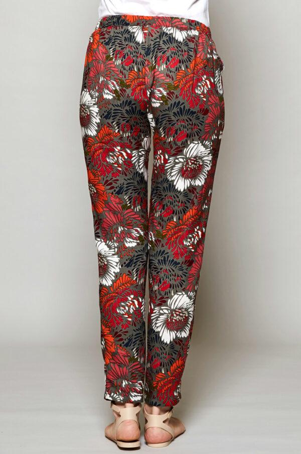 Nomads tencelové kalhoty petal