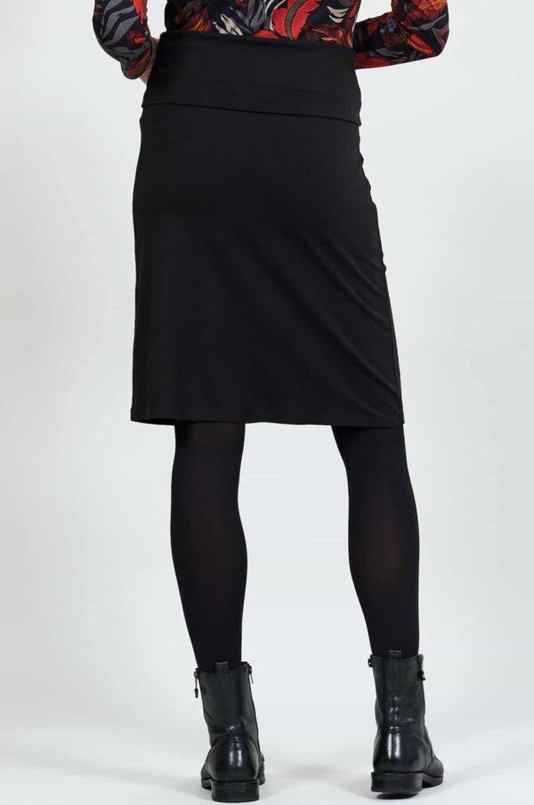 Nomads sukně s nastavitelným lemem černá