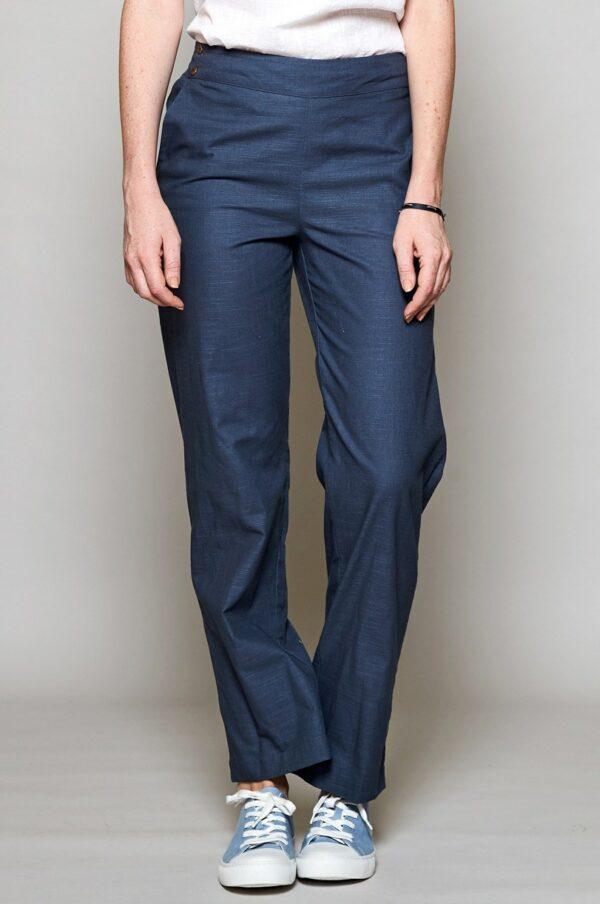 Nomads straight kalhoty modré