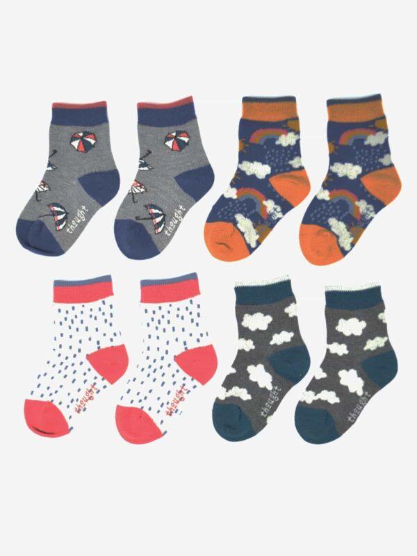 Thought dárkové balení dětských ponožek overcast kid