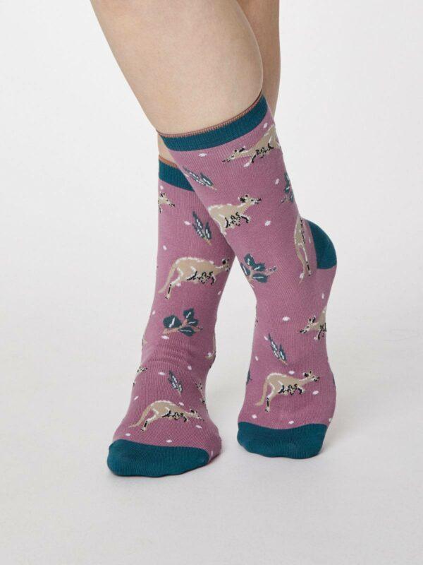 Living Crafts dvojbalení dámských ponožek canguro