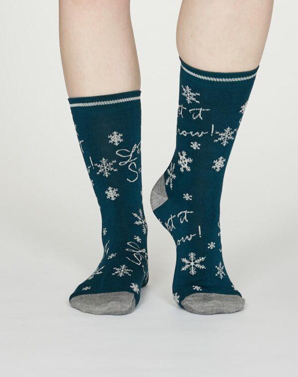 Thought dárkové balení dámských ponožek carole
