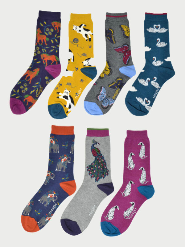 Thought dárkové balení dámských ponožek idony