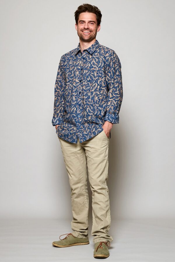 Nomads pánská košile s dlouhým rukávem sundowner