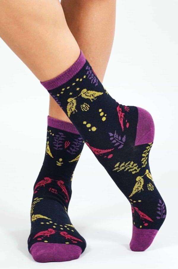 Nomads dámske ponožky z bio bavlny cornish šedé