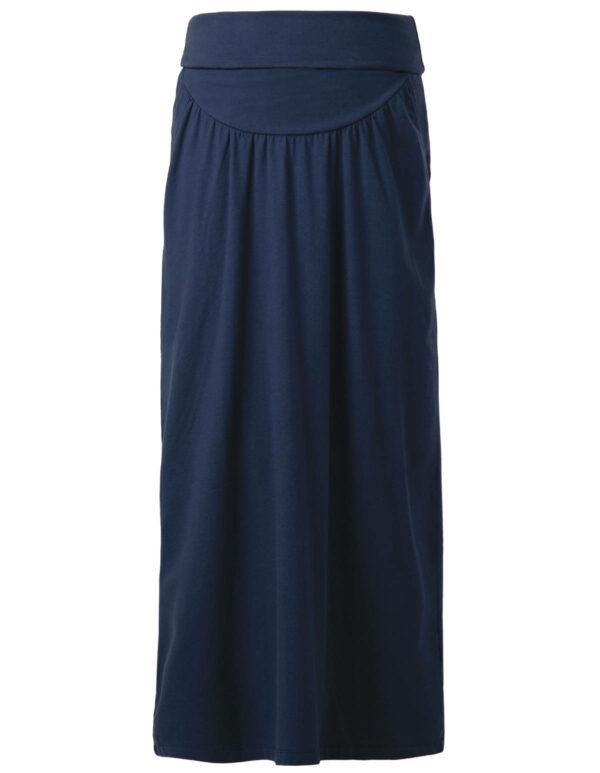 Frugi těhotenská maxi sukně modrá
