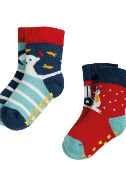 Frugi  protiskluzové ponožky tractor