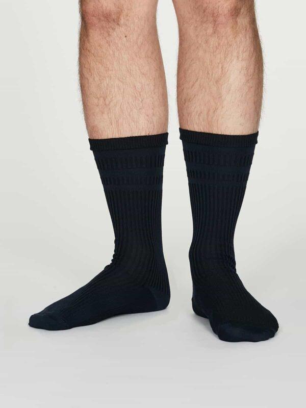 Thought pánské diabetické ponožky benedict modré