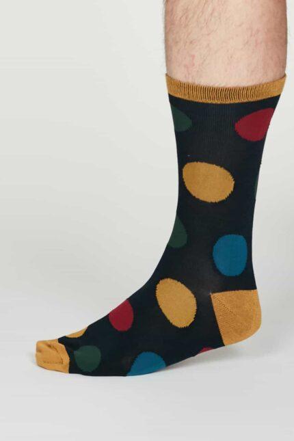 Thought pánské bambusové ponožky newton modré