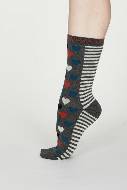 Thought dámske bambusové ponožky eileen šedé
