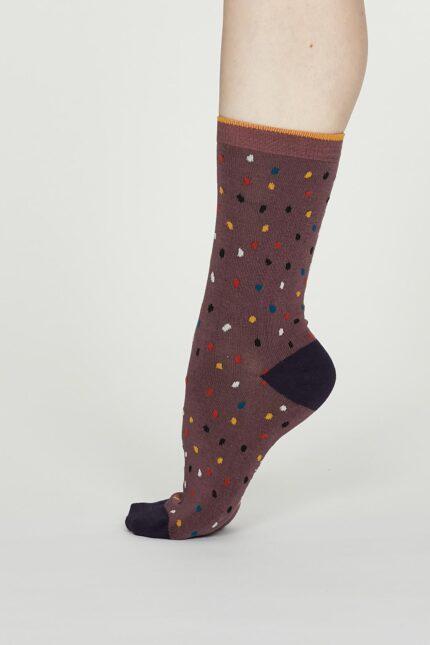Thought dámske bambusové ponožky emme růžové