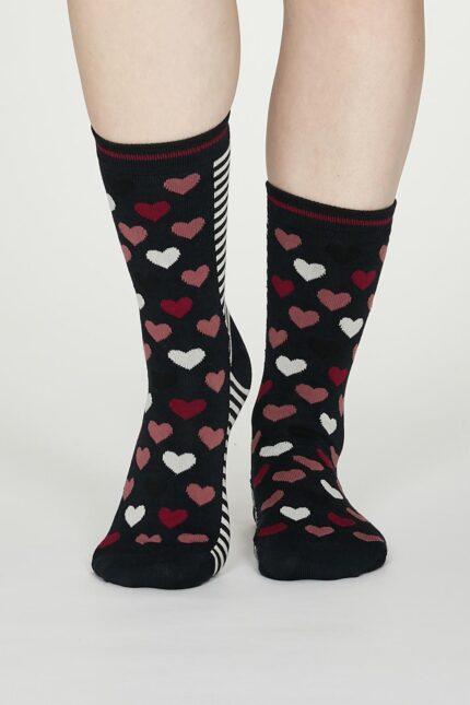 Thought dámske bambusové ponožky eileen modré