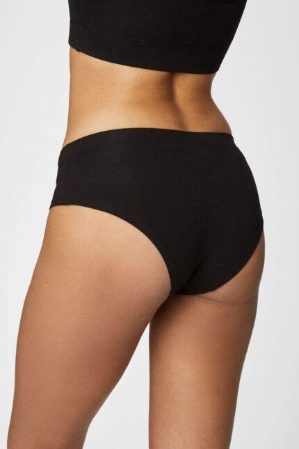Thought bambusové kalhotky hannah černé