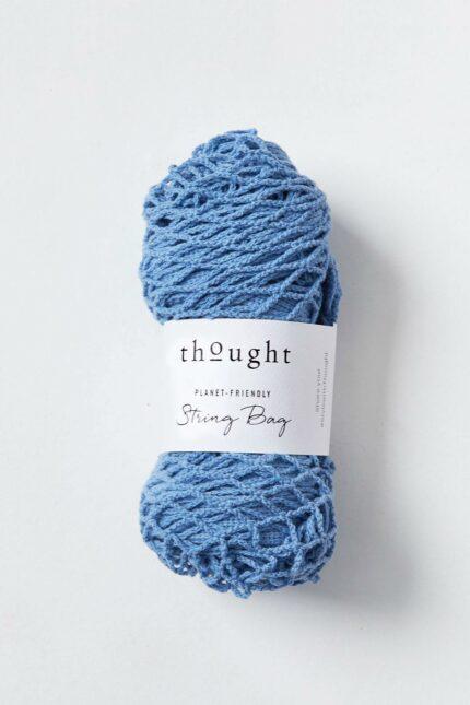Thought síťovka z bio bavlny modrá