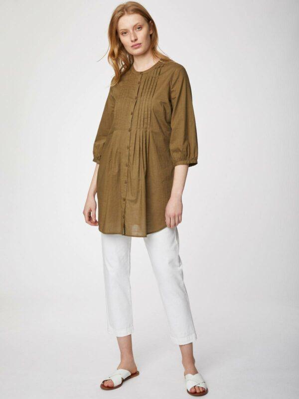 Thought košile z bio bavlny sara