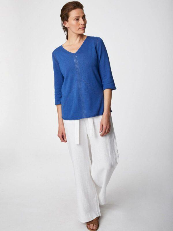 Thought svetřík s konopím ethel modrý