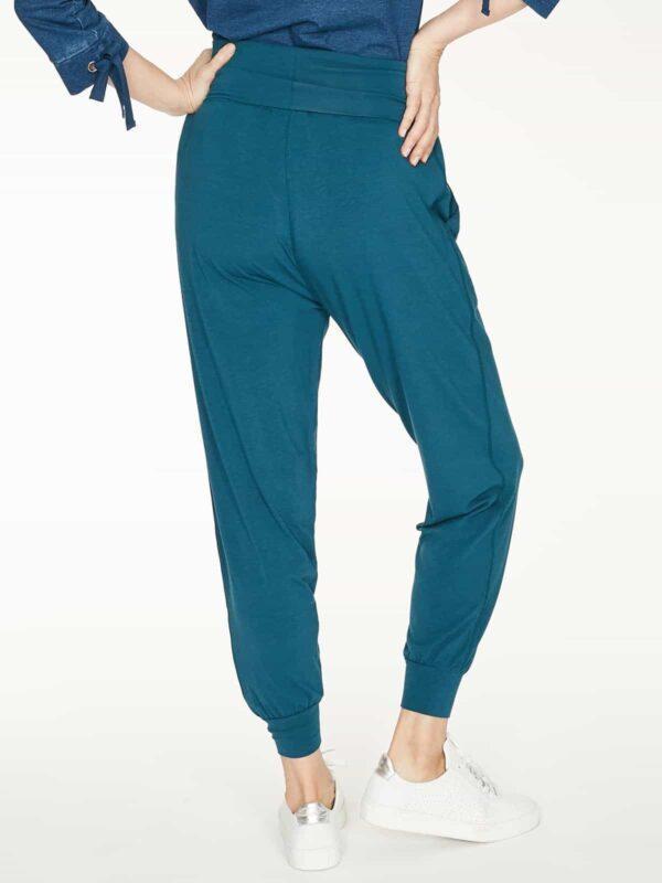 Thought bambusové kalhoty dashka modré