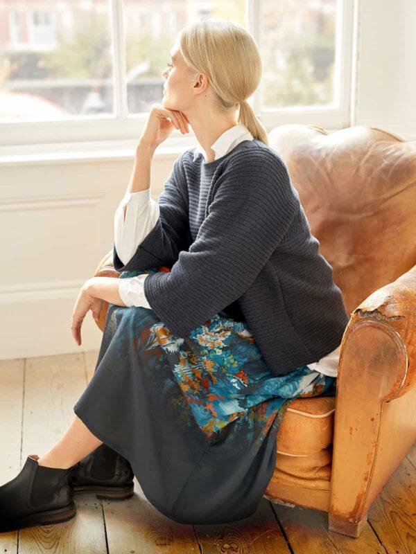 Thought tencelová sukně sissinghurst