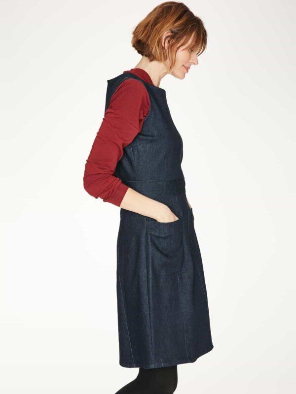 Thought denimové šaty nicol