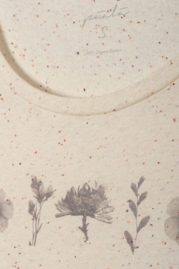 Thought top z bio bavlny herbal row sv. oranžový